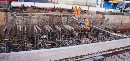 Macrodrenagem: cinco pontes estão sendo construídas sobre o Córrego Sul
