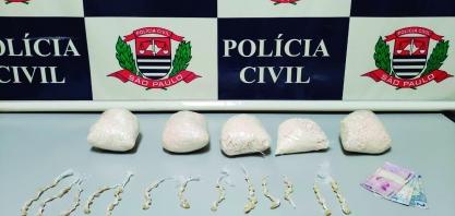 DISE apreende menor no tráfico com 2 quilos de pasta base de cocaína, em Sertãozinho