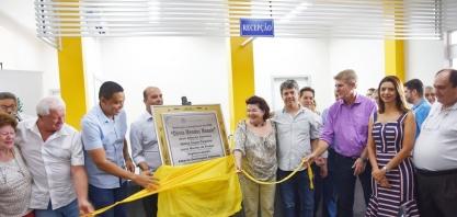 """Entrega das obras de reforma e ampliação da UBS """"Olívia Mendes Mossin"""" é oficializada"""