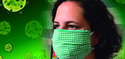 Máscaras caseiras podem ajudar na prevenção ao coronavírus