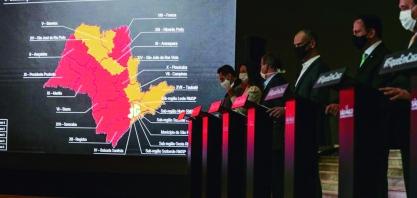 Região de Ribeirão continua na fase vermelha