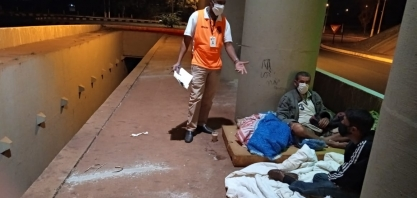 Sertãozinho: Assistência Social segue com atendimento à população em situação de rua durante a pandemia