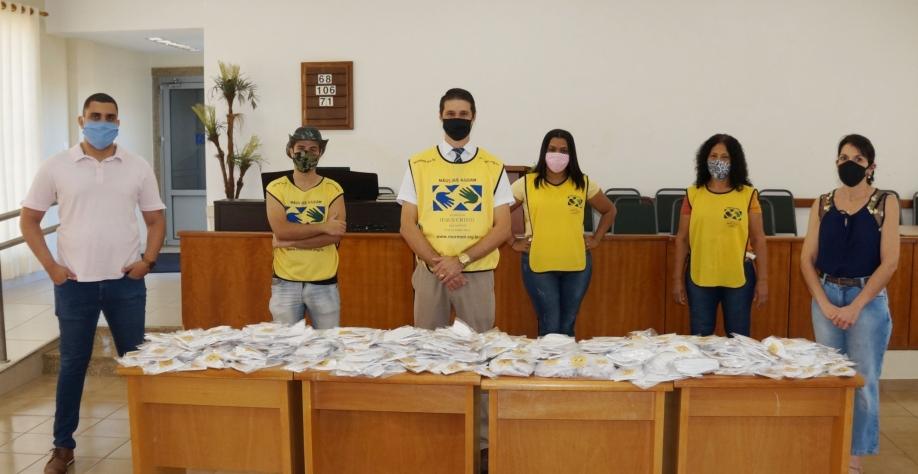 Secretaria da Saúde recebe doação de 1.000 máscaras