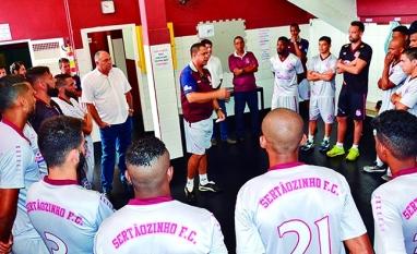 Sertãozinho contará com jogadores da base para os últimos jogos da primeira fase da Série A2