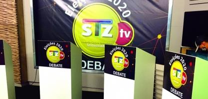 Debate na STZ TV é na semana que vem!