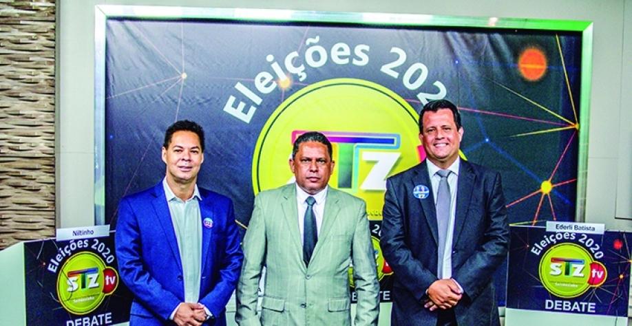 Primeiro debate à Prefeitura de Sertãozinho teve três candidatos