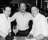 Fernando Antunes, Aloisio Abud e Augusto Guimarães Caldo