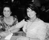 Libanesas: Haifa Khoury Aude e Neida Yasbeck Felicio