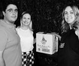 Ganhadores da caixa de vinhos Marchesi Di Livrea: Gustavo e Marcela Ribeiro