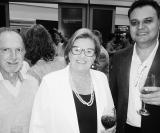AVIRRP: tesoureiro  Antônio Sérgio Ignácio, diretora social Marcia Marighetti, e o presidente  Francisco de Assis Leite