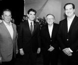 Dr. Pedro Palocci, Prefeito Duarte Nogueira, Dr. Percival Martineli e Rogério Melzi