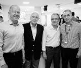 Dr. Juvelcio Peixoto, Dr. Cássio de Moraes, Dr. Roberto Marziale e Dr. João Sérgio de Carvalho Filho