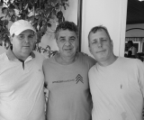 Aniversariantes: Marcelo Arruda, Cesar Mari e Marcos Menassi