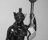 Guardião de bronze datado de 1878