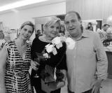 Lelinha Gentil, Maria Del Carmen e Amir Calil Dib