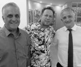 Claudio de Paula, Sidnei de Almeida e Halyson Waldirama