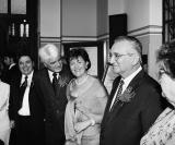 Padrinhos: José Augusto e Ivete Barros Rodrigues, Deputado Roberto Engler e Heliana, o Promotor Público Francisco de Lúcio e TersI e Marly Therezinha