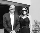 Carlos Domingues e Lica Gimenes