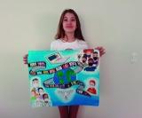 Primeiro lugar    Bianca de Souza Pagnano, aluna do Colégio Arte Livre