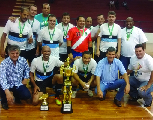 Futebol de Quinta foi a grande equipe campeã.