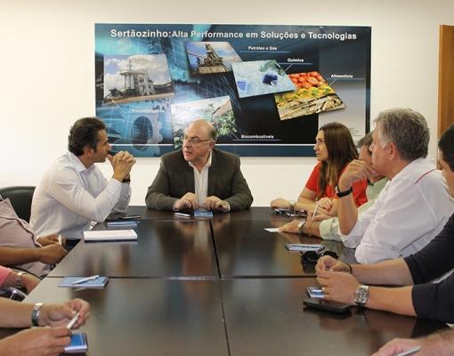 Secretário da Agricultura, Arnaldo Jardim, cumpre agenda com pautas  importantíssimas para atingir avanços na agricultura da região de Sertãozinho. O foco foi na Canoeste e no CEISEBr . CREDITO: LENA AGUILAR