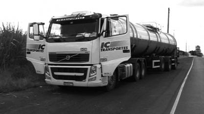 Caminhão carregado de diesel  é encontrado em Sertãozinho