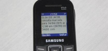NOVIDADE - Consultas da Rede Municipal de Saúde passam a ser confirmadas por mensagem SMS