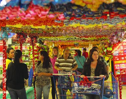 Produtos relacionados à Páscoa começam ocupar espaço nos supermercados. Foto: Divulgação