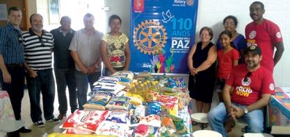 COMEMORAÇÃO - Rotary Internacional 110 anos