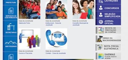 INTERNET - Casa da Juventude de Sertãozinho tem novo canal de comunicação com a população