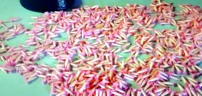 GCM prende homem com 900 cápsulas de cocaína