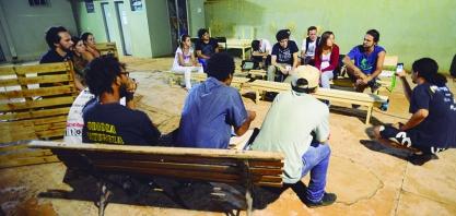 Jovens sertanezinos promovem movimento de ocupação cultural