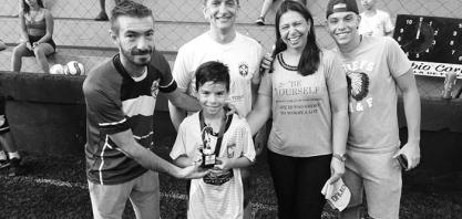 Escola de Futebol Fábio Carille - Finais do Campeonato interno foi um sucesso total
