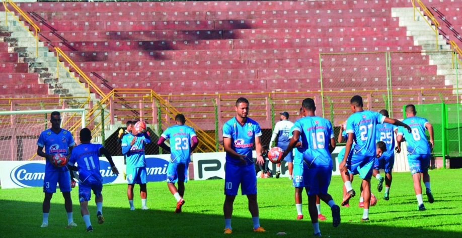 Sertãozinho realiza último treino antes do Atibaia
