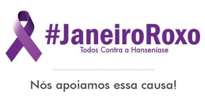JANEIRO ROXO: MÊS DA CONSCIENTIZAÇÃO DA HANSENÍASE