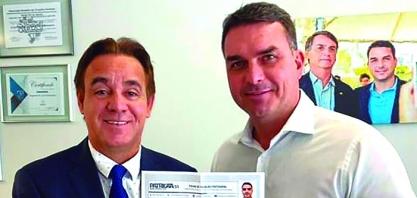 Flávio Bolsonaro, filia no Patriota. Reportagem completa e entrevista nas próximas edições