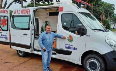 Vereador Cesinha conquista ambulância UTI de suporte avançado, para Cruz das Posses