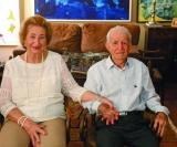 Meus pupilos! Muita alegria em nossa familia. No próximo dia 17, Akef Kalil El Dib comemora seus bem vividos 98 anos e 65 anos de casado com Sila Calil Dib. Saúde e parabéns por tudo que representam!