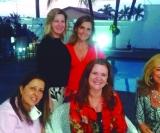 Em pé: Carla Mamed Bonini e Adriana Scodro Mosquetti. Sentadas: Renata Cuachio, Adriana França e Silvana Stein