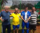 O atacante Fê Mineiro foi o artilheiro do campeonato