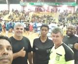 Arbitragem da Liga Sertanezina de Futebol presente na abertura