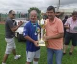 Sabugo (samambaia) recebe o troféu de vice